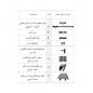 مکانیزم تک درب آویز کشویی آرام بند 80 کیلویی مدل 11022 و 11023 و 11024 و 11025 و 11026 ملونی