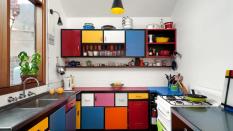 اصول انتخاب رنگ در کابینت