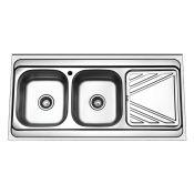سینک ظرفشویی روکار ایگل 401O لگن چپ