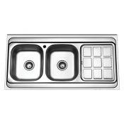 سینک ظرفشویی روکار ایگل 403O لگن چپ